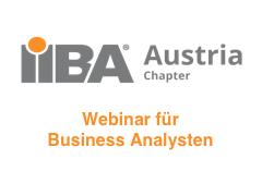 IIBA Austria Chapter - Webinar für Business Analysten