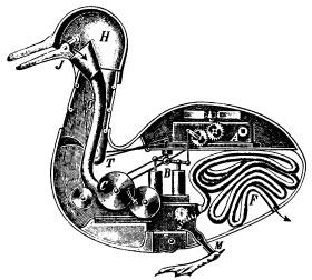 Die Mechanische Ente von Jaques de Vaucanson