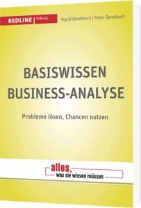 Buchumschlag Basiswissen Business-Analyse