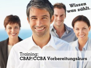 Training: CBAP/CCBA-Vorbereitungskurs