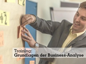 Training: Grundlagen der Business-Analyse