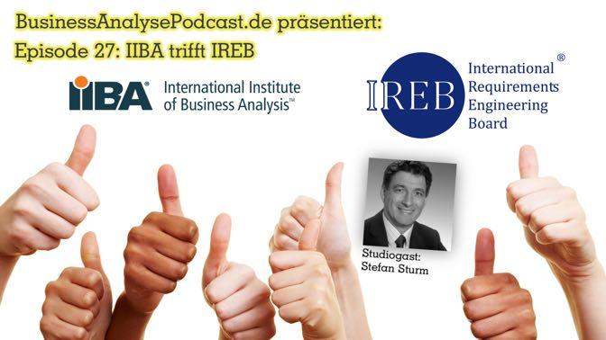 BA27: IIBA trifft IREB